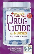 Davis's Drug Guide for Nurses Canadian Version by April Hazard Vallerand and Cy…