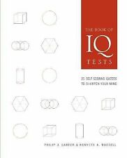 G, The Book of IQ Tests: 25 Self-Scoring Quizzes to Sharpen Your Mind, Russell,