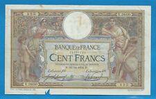 Gertbrolen  100 FRANCS( LUC OLIVIER MERSON )  du 28-12-1914   V.2600