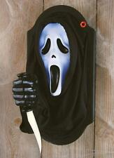 SCREAM GHOSTFACE LIGHT-UP ANIMATED PLAQUE PROP Halloween Party Decoration 91707