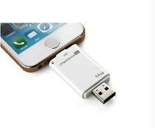 64GB USB i-Flash Drive U Disk 8pin Memory Stick For iPhone 5 5S 5C 6 6 plus Ipod