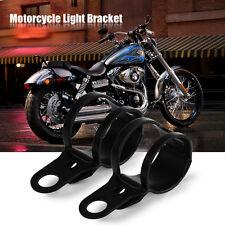 Motorcycle Side Mount License Plate Tail Light Bracket Custom Bobber Chopper New