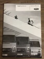 FORD PEOPLEMOVERS 2007 RANGE SPECS CAR BROCHURE TRANSIT MINIBUS TOURNEO CONNECT