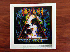 DEF LEPPARD - HYSTERIA - STICKER/DECAL - BRAND NEW VINTAGE - MUSIC BAND 073
