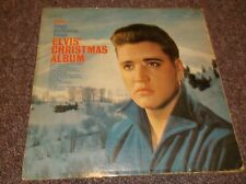 Elvis Presley Christmas Album mono RCA Army Pictures on back cover