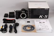 MINT Pentax K-5 16.3 MP Digital SLR Camera from japan #552
