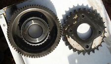 Lot of 2 Vintage Gear and Sprocket for Steam Punk Art or Repurpose Project