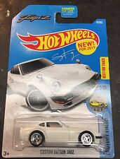 2017 Hot Wheels Super CUSTOM Datsun 240Z FUGUZ with Chrome Real Riders