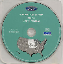 03 04 05 06 Ford Expedition Escape Navigation Map #3 Cover ND SD NE KS MN IA MO
