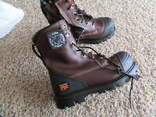 """NEW TIMBERLAND PRO WATERPROOF WORK BOOTS MENS 7W A1179 CAP ROCK SAFETY TOE 8"""""""