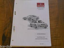 ROVER Serie 200 / 400 Motor DIESEL 218 418 1994-1995 Spezial WERKSTATT HANDBUCH