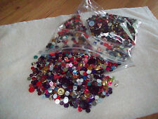 Mixed Lot Of Sewing Buttons 1-2 LBS.