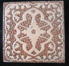 ".99 each, Ceramic Tile Lot sale of 10 Italian Terra Cotta Design ""Classic"""