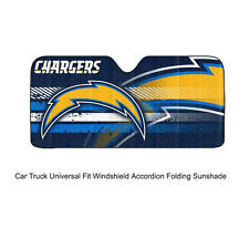 NFL San Diego Chargers Car Truck Front Windshield Accordion SunShade Large Size