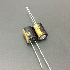 10pcs 220uF 35V 8x11.5mm Panasonic FM Low ESR 35V220uF Audio grade Capacitor
