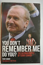 Book. You Don't Remember Me, Do You?: The Autobiography of Terry Conroy. HBDJ.