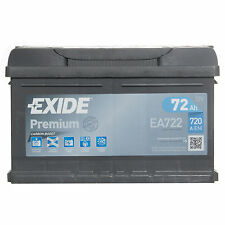 Exide Premium Car Battery Type 096 / 100 With 4 Year Manufacturers Warranty
