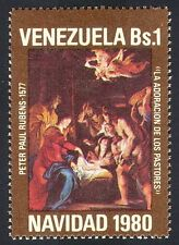 Venezuela 1980 Christmas/Greetings/Nativity/Art/Rubens/Shepherds 1v (n40366)