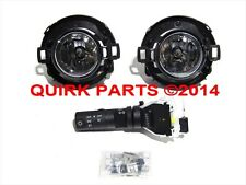 2010-2015 Nissan Xterra Frontier Fog Light Lamp & Switch Kit Set OEM NEW Genuine