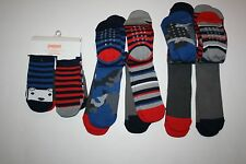 New Gymboree 6 Days of the Week Socks 6 Pairs Shoe Size 2T 3T NWT Bear Camo