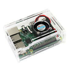 Kit for Raspberry Pi 3 Model B+Clear Box Case Transparent Enclosure Box Case  0o