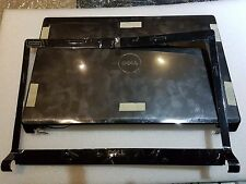 NEW DELL STUDIO 1555 1558 1557  BLACK BACK COVER W/D BEZEL .WIRES AND HINGES