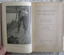 The Mystery Of Orcival Emile Gaboriau 1905 Illustrated Jules Guerin