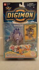 New Bandai Digimon Digital Monsters Digivolving Garurumon Figure Poster & Card