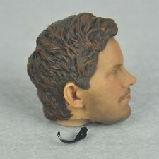 █ Custom Chris Pratt 1/6 Head Sculpt with Earpiece for Hot Toys Star-Lord Body