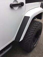 Jeep Wrangler Fender Black STONE GUARD Adhesive (x2) Stick-On Decals ANY YEAR!