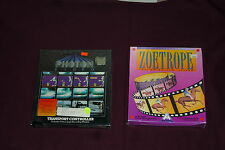 RARE SEALED AMIGA ANIMATION SOFTWARE LOT Photon Video Trans Cont & Zoetrope