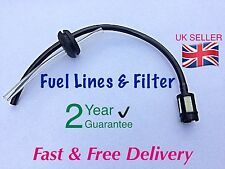Petrol Strimmer Fuel Hose Pipe With Tank Filter assembly & Grommet.UK SELLER