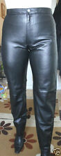 Horizon Jeans Leather trousers Black Size 38 UK 10  RRP £229.00