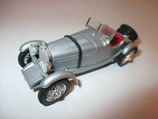 MERCEDES w 06.ii type supersport brièvement ssk (1928) en argent silver MT rio en 1:43!