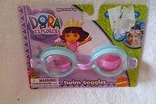 Dora The Explorer Girl Kids Swimming Goggles Splash Goggle New