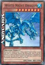 Carta INGLESE White Night Dragon / Drago Notte Bianca ☻ Rara Nera ☻ BP01 EN016