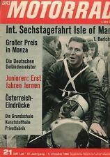 M6521 + Bilder: Deutsche Geländemeister 1965 + Das MOTORRAD Nr. 21 vom 9.10.1965