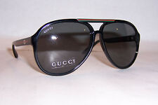 NEW GUCCI SUNGLASSES GG 1627/S BLACK/GRAY D28-R6 AUTHENTIC