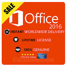 OFFICE PROFESSIONAL PLUS 2016 32 / 64BIT ORIGINAL LICENSE KEY - CODE FOR 1PC