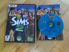Los Sims 2 Juego PC DVD ROM base Windows