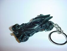 NEW 3D BLACK BATMOBILE CUSTOM KEYCHAIN keyring KEY CHAIN BATMAN DAWN of JUSTICE!