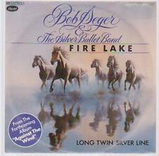 "7"" Bob Seger & The The Silver Bullet Band Fire Lake 80`s EMI Capitol"