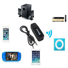 New 3.5mm Dongle USB Bluetooth Wireless Stereo Audio Speaker Receiver Adapter