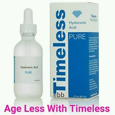 The Best Timeless 100% Hyaluronic Acid.  Pure. Age Less! Sealed. 2oz