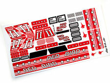 STICKERS for LEGO 5591 Mach II Red Bird Rig , Custom Builds, etc. Very nice!