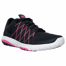 NIKE RUNNING SHOES FLEX FURY 2 BLACK PINK WOMEN SIZE 10 NEW 819135-003 FLY WIRE
