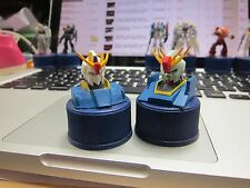 GUNDAM x Pepsi - FIGURE on bottle cap - 2 items 1 set D - JAPAN RARE -