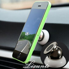 Mini 360° Universal Magnetic Support Cell Phone Car Dash Holder Stand Mount LXT
