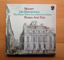 6768 032 Mozart The Piano Trios Beaux Arts Trio Philips 2xLP + booklet NEAR MINT