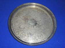 "International Silver Co 15"" Tray 1976 Glen Winans Memorial Villa Park IL"